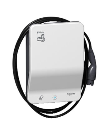 Schneider Electric Evlink Smart Wallbox 22 Kw Attached Cable T2 Rfid