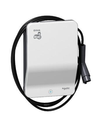 Schneider Electric Evlink Smart Wallbox 7.4 Kw Attached Cable T1 Key