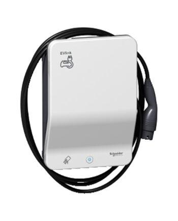 Schneider Electric Evlink Smart Wallbox 7.4 Kw Attached Cable T2 Rfid