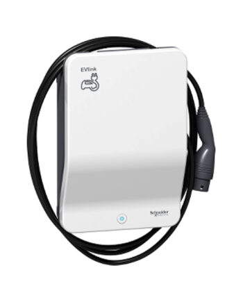 Schneider Electric Evlink Ev Charger Wallbox T2 Cable 1ph 7.4kw 32a